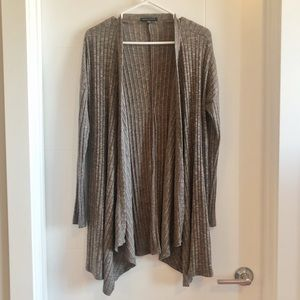 American Eagle long waterfall style open cardigan